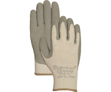 High-Visibility Yellow HPT PVC Water Repellent Palm Medium Bellingham C4001M High-Visibility Insulated Thermal Knit Work Glove