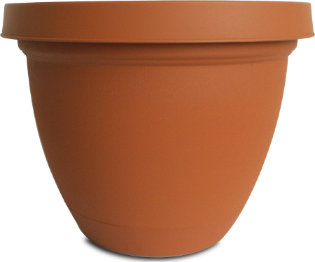 6 Quot Infinity With Saucer Clay Pot A15 Ifa0600e35